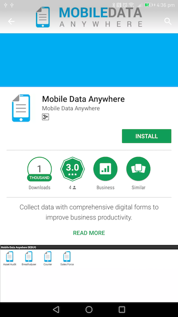 Mobile Data Anywhere