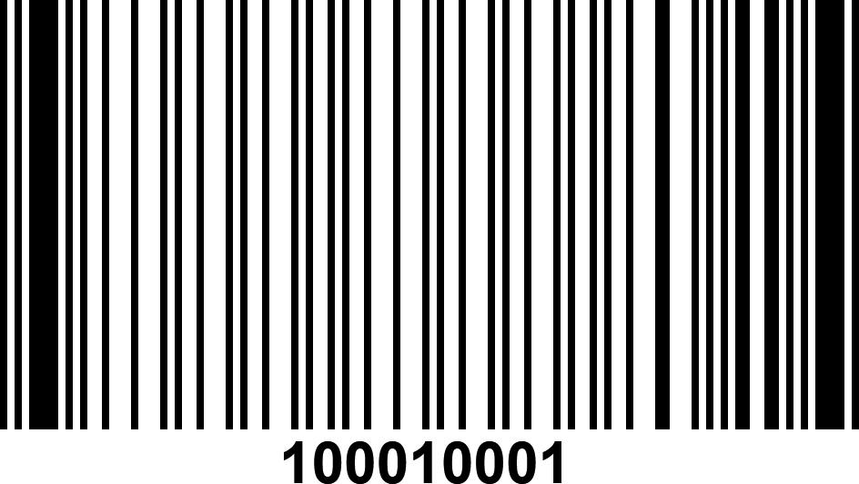 Barcode code 93