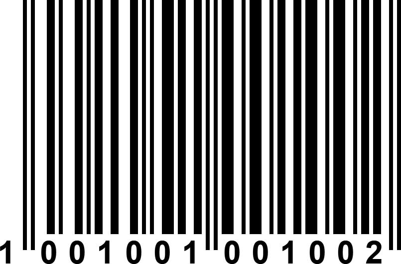 Barcode ean 13
