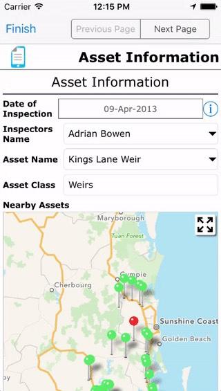 Use case flood audit maps